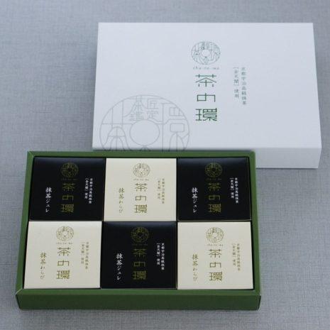 抹茶ジュレわらび6個入箱